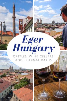 There is so much to do in Eger Hungary! Spend the morning soaking in thermal baths climb the Eger Minaret visit the castle and wine taste in the valley. Travel Through Europe, Travel Around The World, Travel Europe, Thermal Baths, Hungary Travel, Adventures Abroad, Wine Tasting, Wine Cellars, Travel Inspiration