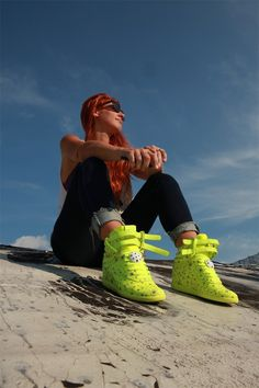 1452556a456e Sneakers For Girl   Street Snaps of M. x Reebok Constellations. Melody  Ehsani Design