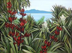 Kirsty Nixon New Zealand - Google Search New Zealand Houses, New Zealand Art, Sculpture Art, Garden Sculpture, Nz Art, Kiwiana, Tropical Garden, Art Google, Landscape Art