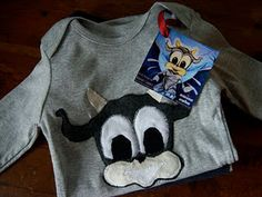 Holy Cow (applique) based on the art of Xavier Lopez Jr