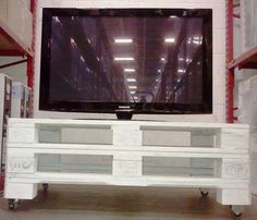 Diy Handmade Simple Pallet Tv Units