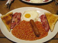 El típico 'english breakfast', Londres via Flickr.