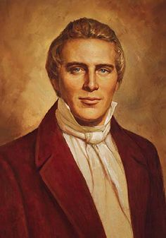 The first leader of Christ's church in this dispensation...Joseph Smith Jr.  Prophet of the Church of Jesus Christ of Latter-Day Saints