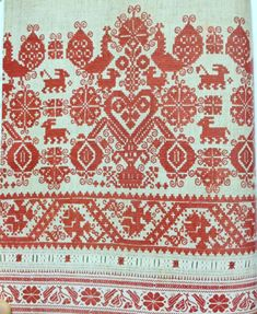 Slovak Folk Embroidery or Slovenská ľudová výšivka Traditional Slovak folk embroidery is a part of Slavic heritage and culture and now I would like to show you few examples, also you can read on the Slovak embroidery. Russian Embroidery, Folk Embroidery, Learn Embroidery, Modern Embroidery, Chain Stitch Embroidery, Embroidery Stitches, Embroidery Patterns, Cross Stitch Patterns, Stitch Head