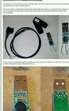 DIY FTDI cable