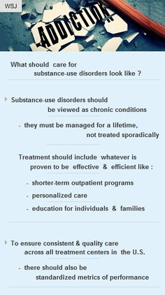 Substance-use disorder must be managed for a #lifetime, not treated sporadically #DrugAbuse http://arzillion.com/S/rn49o5