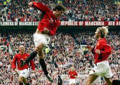 Ruud van Nistelrooy & David Beckham