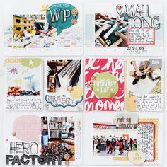 Project Life | Week 51 #projectlife #scrapbook