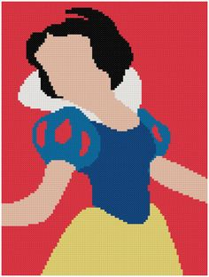Snow white cross stitch pattern/disney princess/disney silhouette/princess snow white/Snow White xstitch/snow white pattern/disney xstitch CROSS STITCH PATTERN (Beginner Level / Easy LEVEL) (Patterns are in both Single page and multi-page enlarged format for easy reading) This PDF counted cross stitch pattern available for instant download after buying. If you are looking for an embroidery project that adds a touch of sympathy to any room, this is the opt...