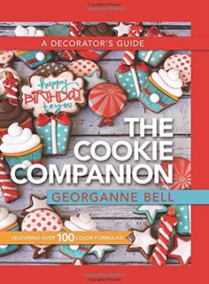 The Cookie Companion: A Decorator's Guide by Georganne Bell http://www.amazon.com/dp/1462116957/ref=cm_sw_r_pi_dp_6vRdwb1K2BNJ1