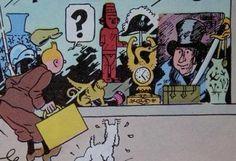 Statuette fétiche Tintin