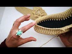 Single Crochet Stitch, Basic Crochet Stitches, Crochet Basics, Thread Crochet, Crochet Sandals, Crochet Shoes, Crochet Slippers, Crochet Flower Tutorial, Crochet Flowers