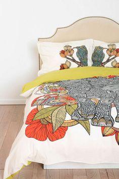 The Elephant Sham By Valentina Ramos Set