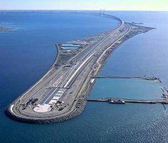 Oresund Bridge Between Sweden & Denmark