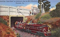 The Zoo Choo at Children's Zoo on the Mill Mountain Roanoke, Virginia, VA, USA Postcard Post Card null http://www.amazon.com/dp/B00XDALJG8/ref=cm_sw_r_pi_dp_QNV2wb0BJ88WF