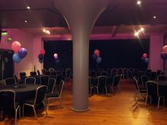 3 Balloon Table Decorations for a Charity Launch Event at The Corn Exchange