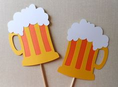 Really fun props - Beer themed birthday party photo props