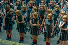 """Japanese photographer Daisuke Takakura takes clone photography pretty seriously. His project """"Monodramatic"""" features some models tens of times, with some o"""