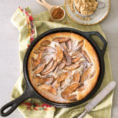 Fall baking doesn't get easier than our Easy Apple-Buttermilk Cobbler, courtesy of Southern Cast Iron.