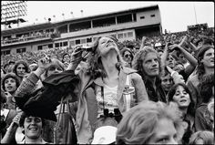 """Joseph Szabo's """"Rolling Stones Fans,"""" available for purchase at Book Marc"""