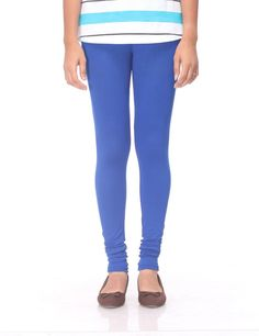 Royal blue one of the top most preferred colors, prisma leggings in this admiring color will be providing the brightness and cute look to your personality.