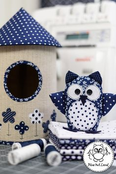 OWL HOUSE SEWING PATTERN by BlueOwlLand