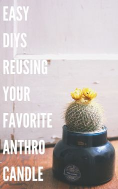 easy @Anthropologie Candle DIY projects