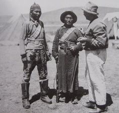 In the spring of 1900 the Swedish explorer Sven Anders Hedin was surveying the area west of Lop Nur (Uygur Autonomous Region in modern China). One night his Uygur guide, Ardik, went back to their former base camp to fetch a missing pick, and lost his way in a rising sandstorm. Moving by dim moonlight, the Uygur guide found the lost pick and then discovered the ruins of a huge Buddhist pagoda, some half-buried wooden beams decorated with exquisite carvings and copper coins spread in the sand.