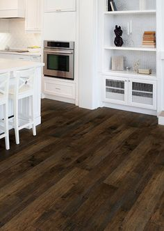 Casita Monterey Hardwood Flooring in a kitchen by Hallmark Floors