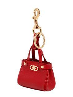 Salvatore Ferregamo Key ring hook Batik bag charm fe72ef444