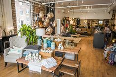 VdeV hasn& had a hard time fitting in on Ossington, giving a fresh take on a space that previously hosted clothing pop-up shops. Walking in reminds. Urban Outfitters Apartment, H&m Home, Selling Furniture, Pop Up Shops, News Design, Kitchen Accessories, Toronto, Living Room, Interior Design