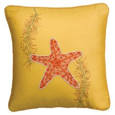 Transform your home into a beach-chic retreat with this plush pillow, perfect for your sofa, bed, or favorite arm chair.     Product: ...
