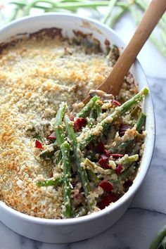 Gourmet Green Bean Casserole with Bacon, Gruyère, and Caramelized Onions