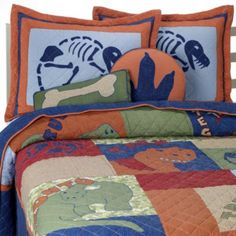 Dino Park Twin Quilt Set - buybuyBaby.com