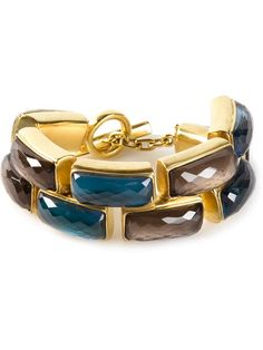 Shop Vaubel faceted stone bracelet in Marissa Collections from the world's best independent boutiques at farfetch.com.