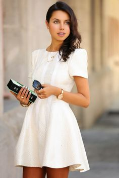 VIVALUXURY - FASHION BLOG BY ANNABELLE FLEUR: PEARL OBSESSION & MISE EN DIOR EARRINGS