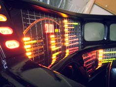 Some photos of my Very Near Completed Knight Rider Dash, just the monitors and some playing about with the switch pods wiring to trick them out to do so cool stuff is pretty much all that remains to be done. Follow my progress on my very informative blog with in depth articles, photos, video and diagrams. http://www.myknightrider2000.blogspot.ca