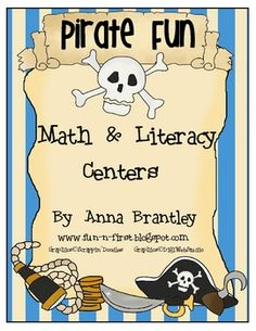 AHOY, MATEYS!! You arghhhhh going to love this pirate themed center packet! This 57 page download is packed full of yo ho ho FUN!! It includes 10 c...