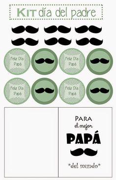 Imprimolandia: Kit imprimible para el día del padre