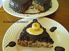 ΜΑΓΕΙΡΙΚΗ ΚΑΙ ΣΥΝΤΑΓΕΣ: Μπανανοκέικ !! Νηστίσιμο πεντανόστιμο με ανεπανάληπτο γλάσο !!! Vegan Sweets, Sweet Recipes, French Toast, Deserts, Food And Drink, Banana, Breakfast, Kitchen, Projects