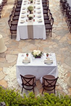 #sweetheart-table  Photography: Sarah Yates Photography - sarahyates.com  Read More: http://www.stylemepretty.com/2011/07/18/malibu-wedding-by-sarah-yates-photography/