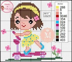 Cross Stitch Cards, Simple Cross Stitch, Cross Stitch Baby, Cross Stitching, Disney Cross Stitch Patterns, Counted Cross Stitch Patterns, Cross Stitch Embroidery, Embroidery Patterns, Pixel Crochet Blanket
