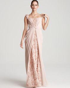 Mignon Gown - Rosette Embellishment | Bloomingdales