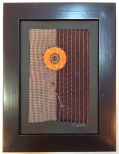 AND SEW IT GOES: Small work
