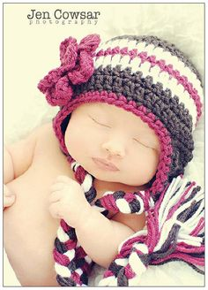 Crochet Photography Prop Hat for Newborn by cherlynnephotography, $12.00