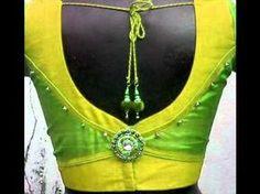 patch work blouse back neck design | Saree Blouse Designs - YouTube