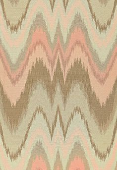 Was anyone listening 5 years ago when i said flame stitch would make a glorious comeback? Next up, moire taffeta!!! Bargello in Blush Conch by @Mary Powers Powers Powers McDonald from @Kylee Foote Foote Eygenraam-Schumacher