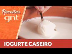 Receita de Iogurte Caseiro   Rita Lobo