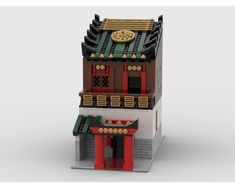 Want to build chinatown in your city?TheModular Chinese House is just for you !! :)<span...