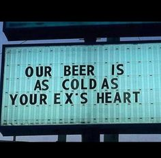 I would buy beer from this liquor store.